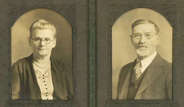 Grandmother Libby Dora Press Silverman and her husband Aaron Silverman. They lived in Des Moines Iowa.