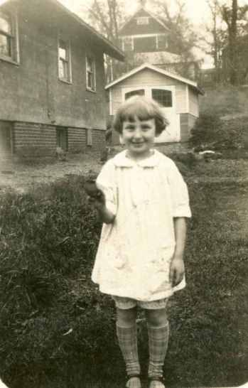 "Helen ""Bebs"" Yaffe as a young girl growing up in Madison, Wisconsin."